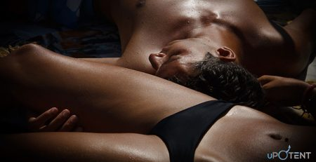 Cuplu obosit dupa sex