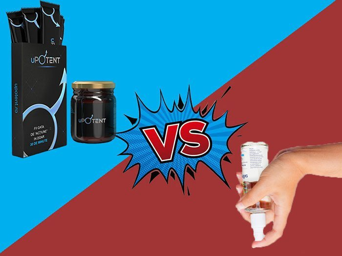 uPotent vs spray impotenta