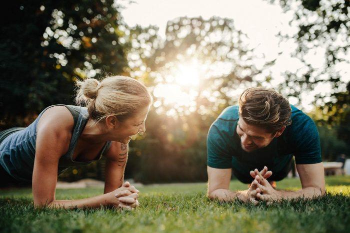 Cuplu in parc